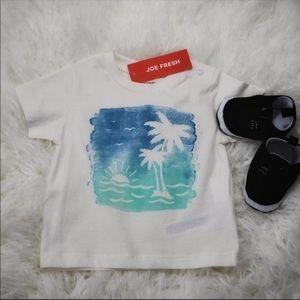 👶🏻 Baby Boy Joe Fresh Hawaiian Graphic T-shirt